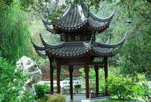 Zahrady čínské / Chinese gardens