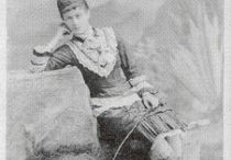 Women Walkers / Exilda LaChapelle, professional woman walker or pedestrienne, 1879