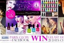 Paris Glow Nails Promo / Photoshoots * Ad Campaigns * Promos