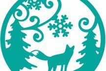 snowflake/śnieżynki