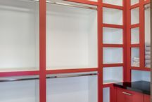 Closet cabinetry / Creative Woodworks Inc