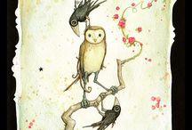 Leontine Greenberg / Skønne, skæve illustrationer