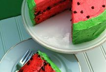 Kids Cakes / Cake inspiration filled with colour and fun for little ones