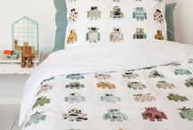 bedding / bedlinens for kids interiors, kidsrooms, childrensrooms, nursery rooms