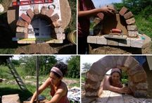 woodfire ovens & outdoor projects