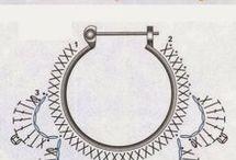 Szydełko - biżuteria