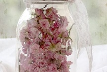 Wedding jars decor
