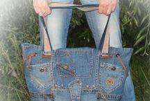 Bolsas com Jeans!