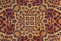 Jaguar Silk Square Scarf Collection / Silk square scarves in engineered jaguar print with rolled edges. Every print is uniquely crafted for each individual scarf.