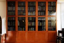 Könyvespolc / Egyedi könyvespolcok.