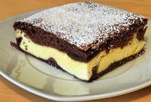 Kakaós túrós süti