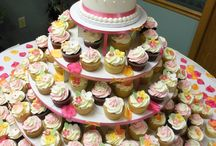 Heavenly Confections Wedding Cupcake Towers