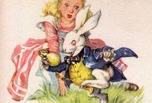 Алиса в стране чудес / Картинки для декупажа