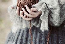 woolly / beautiful knitting