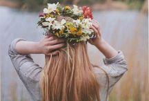Στεφάνια Από Λουλούδια