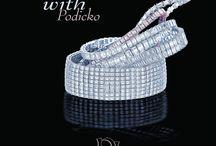 Podicko Diamond Bracelets / Handmade diamond bracelets made with the upmost attention to detail
