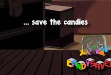 Candy Saver 2 / Save the candies you can, knocking down the objects holding the jar of candies!