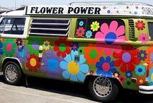 Flower Power Cars