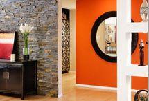 Orange Rooms / by Heather Burdette