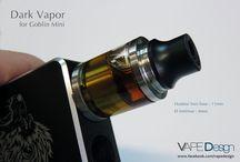 Custom Vape / Accessoires et personnalisation de matériels de Vape, drip tip, gravure laser, microbilage, ...