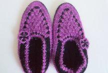 handmade slipper / handmade