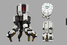 Robot illust