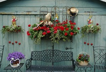 Shed Decorating / by Historic Shed