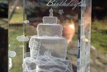 Crystal birthday gift / www.crystals3d.com