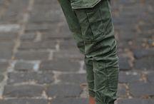 pantalones...militar