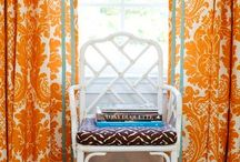 Window Dressing / window treatment ideas and how-to, easy window treatments, favorite fabrics and trims