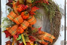 fall decorations / by Myra Jean Fullen