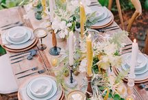 Garden party table and picnic / Garden dinner and picnic