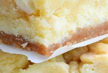 Barras de cheesecake