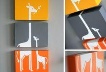 Chambres de bébé / baby's rooms / idées, inspiration pour la décoration des chambres de bébés