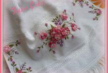 Toalla de flores