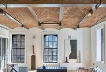 SoHo Loft Style / South of Houston Street, Manhattan Loft style