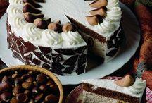 Tortadíszítés / Torták különféle díszítéssel
