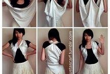 ways to wear a silk scarf