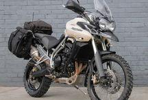 Dual purpose motorcycles