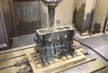 Caddy MK1 G60 Motor und Antrieb / Bildergalerie vom zerlegen und revidieren des Motors und Antrieb