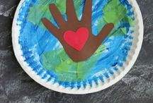 Earth Day ( Paper plate )