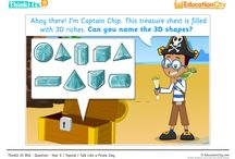 Maths Lesson Starters / EducationCity has created some great mathematics ThinkIts, which are great for starting of class discussions about a new topic.  / by EducationCity