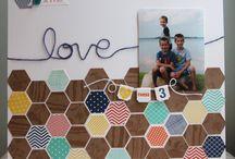 Scrapbooking - Hexagon