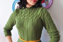 Vintage knits