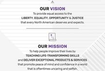 LegalShield Vision2020 Infographic / LegalShield Vision2020 Infographic - What opportunity are you looking for? Every LegalShield Independent Associate started for uniquely personal reasons. For many, it's a chance to enhance their lives, while others have always dreamed of working for themselves from home in their spare-time or part-time. Join us!!! Commit to our Purpose, Vision, Mission, and Values and improve yourself every day!!!
