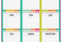 School - Birthdays / by The Sharpened Pencil