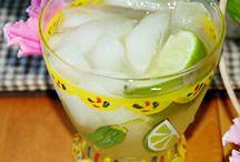 Bebidas para animar y refrescar.. / Deliciosas bebidas refrescantes para buenos momentos..