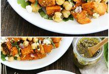 Salad Recipes / Filling salads