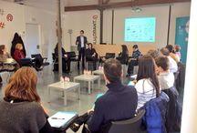 Mesa redonda: La gestión de la influencia y el valor de las marcas en las empresas / Encuentro empresarial en el Parque científico y tecnológico de Terrassa - Orbital 40