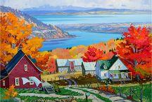 peintre québécois